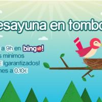Tombola: Bingos garantizados de 70€ todas las mañanas