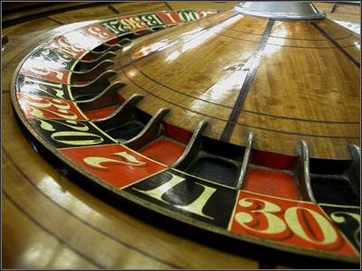 Historia de la introducción de la ruleta en los casinos.