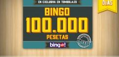 Tombola: Bingo garantizado de 600€ durante el 16 y 17 de octubre